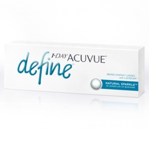 1-Day Acuvue Define Natural Sparkle 30pk контактные линзы