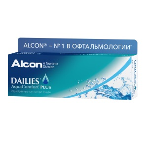 Dailies AquaComfort Plus 30pk контактные линзы