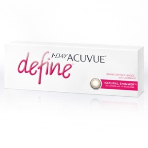 1-Day Acuvue Define Natural Shimmer 30pk контактные линзы