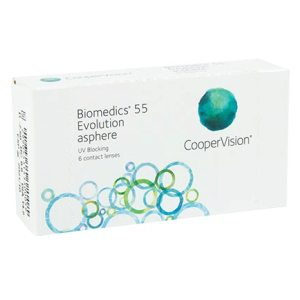 Biomedics 55 Evolution 6pk контактные линзы