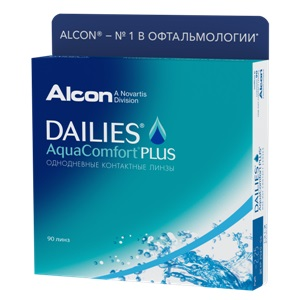 Dailies AquaComfort Plus 90pk контактные линзы