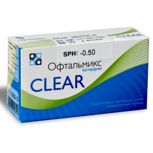 Ophthalmix Clear 4pk