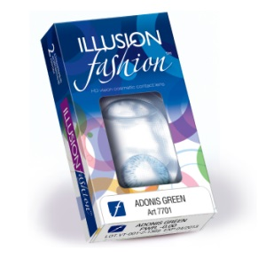 Illusion Fashion Adonis 2pk контактные линзы