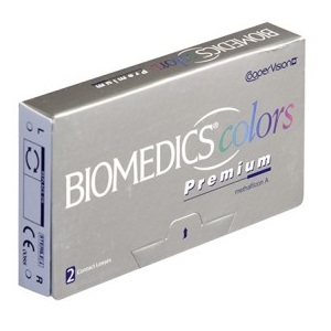 Biomedics Colors Premium 2pk контактные линзы