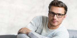 Как подобрать оправу для очков мужчине